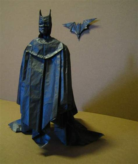 Origami Batman - origami batman pic global news