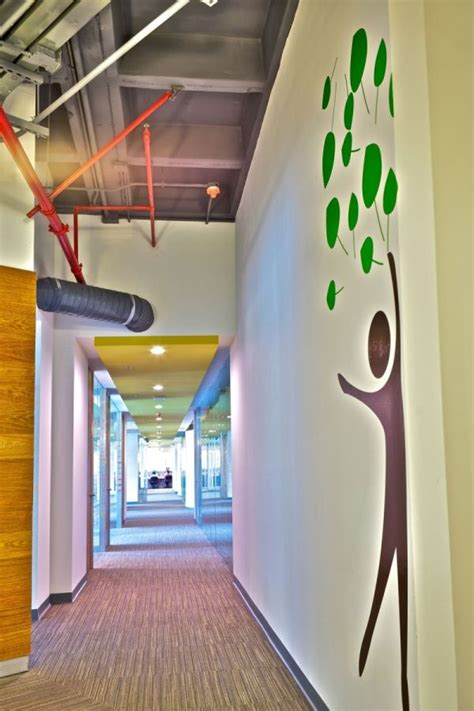 colorful interior design colorful corporate office interior design by space
