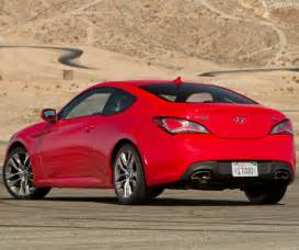 hyundai genesis coupe strange looking but sporty