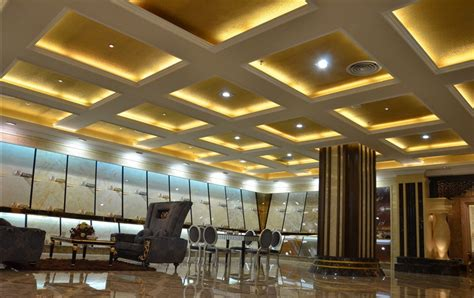 hotel lobby lighting and ceiling design 3d house