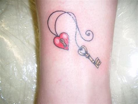 key heart tattoo 77 fantastic wrist key tattoos design