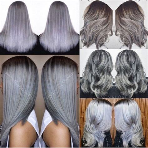 Obsessed with Metallic Hair Colors!!!   The HairCut Web
