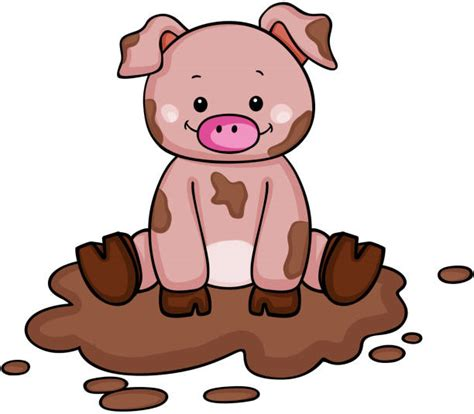 pig clipart 1 royalty free stock illustrations vector mud clipart jaxstorm realverse us