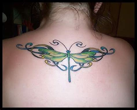 dragon fly tattoo designs dragonfly on back tattoogallery1