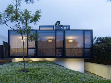 modern glass houses eco friendly large glass windows offering effective energy