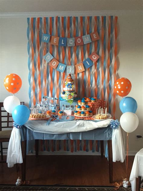 Finding Nemo Baby Shower Decorations by Finding Nemo Baby Shower Decorations Www Imgkid