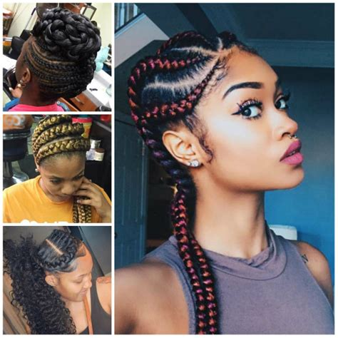 beautiful braids for black women cute beautiful cornrow hairstyles images 2018