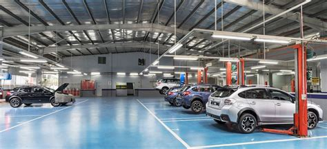 subaru showroom malaysia first subaru 4s centre opens in cheras autoworld com my