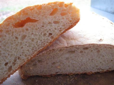 ciabatta slippers ciabatta crusty slipper bread recipe genius kitchen