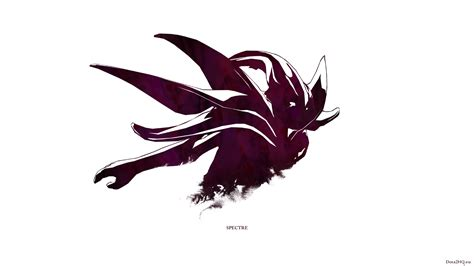 wallpaper dota 2 spectre mercurial spectre simple art dota 2 wallpapers