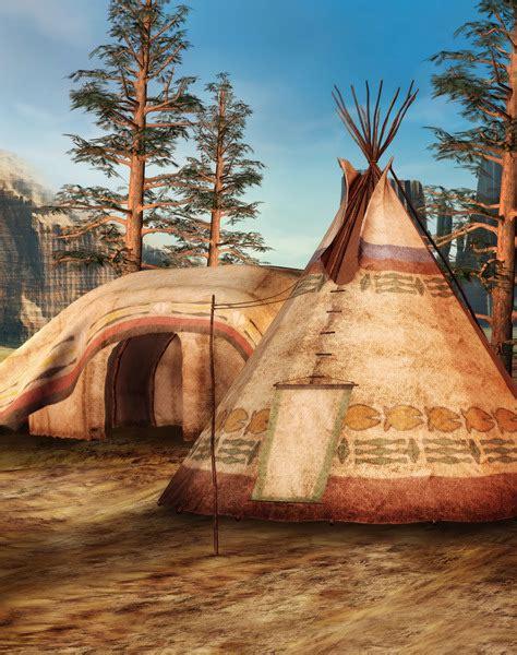 wild west village digital fantasy backgrounds