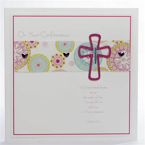 Handmade Confirmation Cards - handmade confirmation card confirmation card three