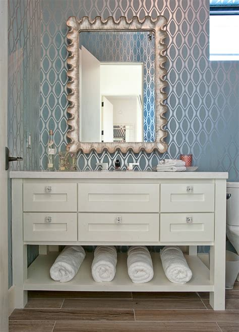 houzz wallpaper bathroom one of my favorite homes on houzz wallpaper who