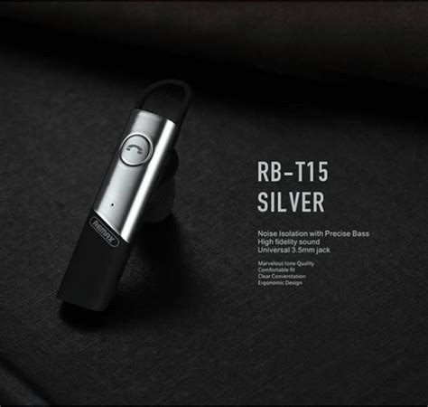 Remax Business Bluetooth Headset Rb T15 remax rb t15 business hd voice bluetooth earphone wireless headset