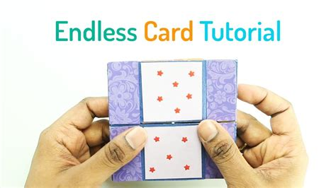 how to make endless card how to make an endless card my crafts and diy projects