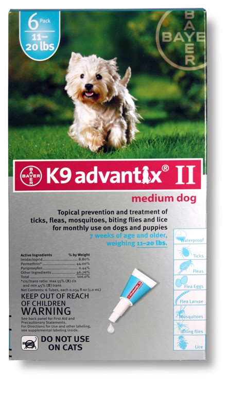 k9 advantix puppy k9 advantix ii 11 20 lbs 6 month teal spot on treatment ebay