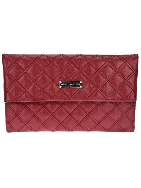 Marc Quilted Eugenie Purse by Lyst Marc Eugenie Quilted Clutch In