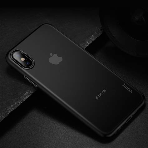 iphone xs xr xs max thin series phone back cover hoco the premium lifestyle