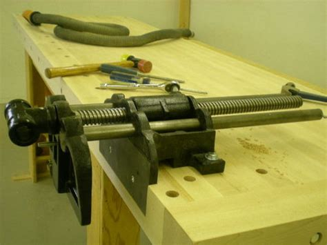 jorgensen woodworking vise 3 day bench build 3 day 3 assembly vise