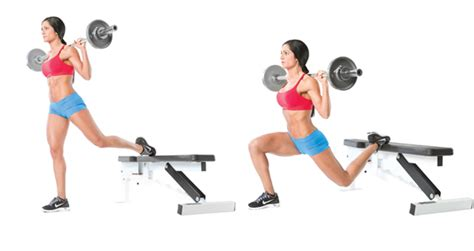 one legged squat with bench daily workout plan for losing weight weight loss workout