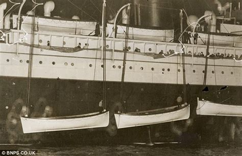 titanic lifeboat for sale titanic safety officer maurice clarke s warning that they