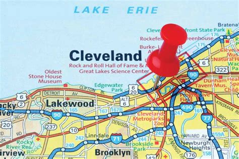 map of cleveland ohio the ultimate guide to grading cleveland neighborhoods