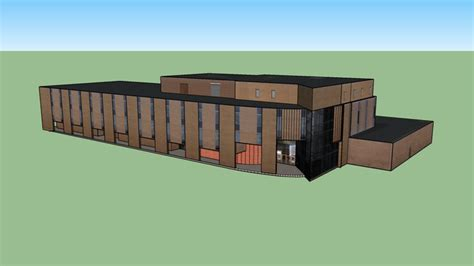 Bgsu Mba Accreditation by Business Administration Building 3d Warehouse