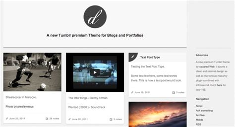 tumblr adds blog theme customization to its ios and 25 best portfolio themes for tumblr premium and free themes