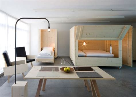 beds for studio apartments atelierhouse studio apartment in italy with retractable
