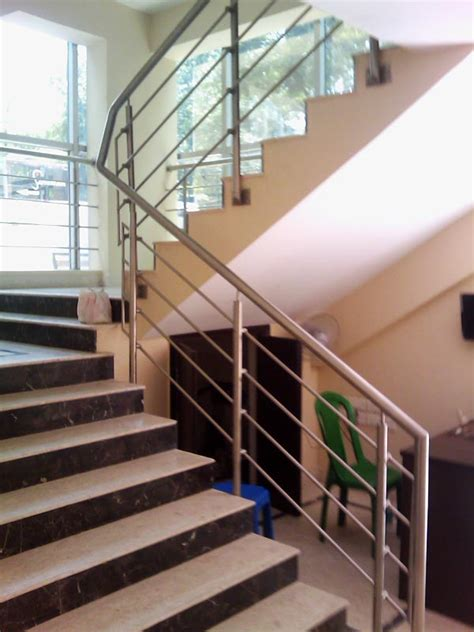 steel banister rails indoor stainless steel stair railing founder stair