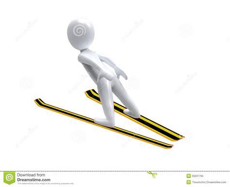 jump olympics winter olympic ski jump 3d ski jumps stock