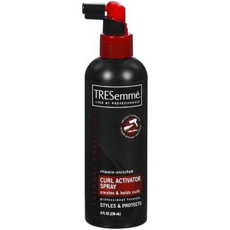 best curl activator for natural hair tresemme curl activator spray 8 oz hair care walmart com