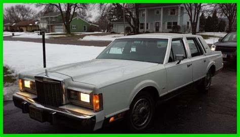 security system 1987 lincoln town car engine control 1987 lincoln town car signature 5l v8 16v automatic rwd cruise control wisconsin for sale in