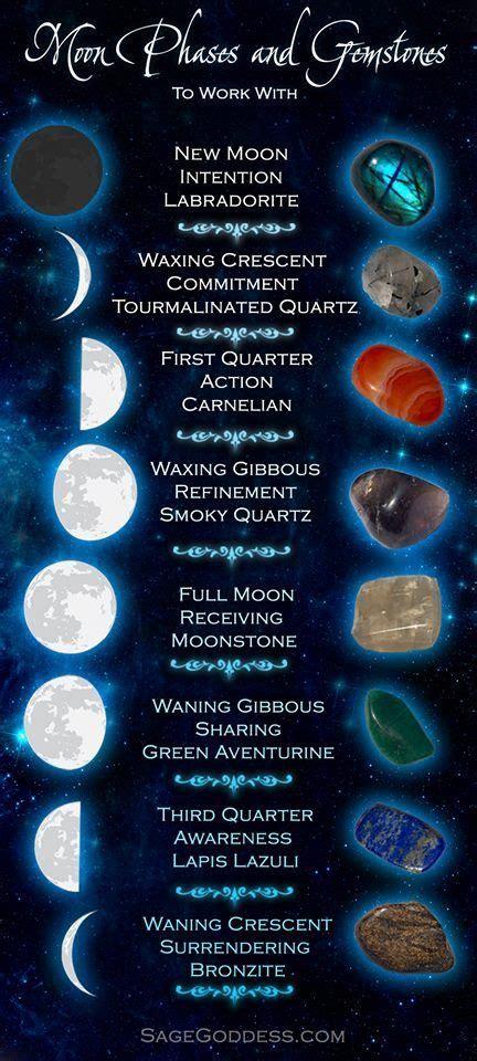 metaphysical full moon crystals moon magic crystals