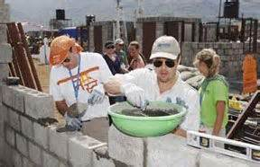 Brad Pitt Gets For Habitat For Humanity by Brad Pitt On The Site Of Habitat For Humanity S 2006 Jimmy
