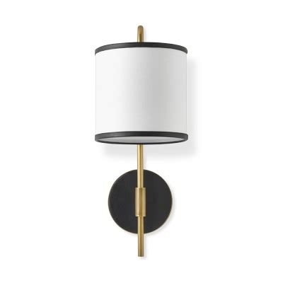 Buy Gift Card Online Pickup In Store - woven leather sconce black antique brass williams sonoma