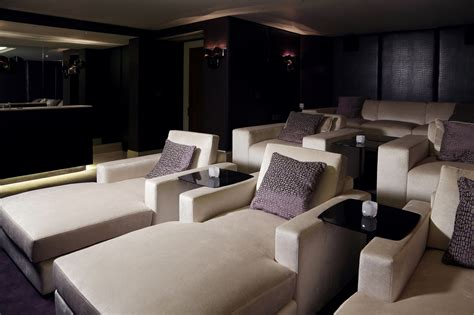 theater with couches cinema room the sofa chair company
