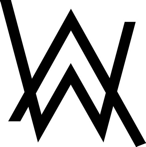 Alan Walker Logo Vector | vector for free alan walker