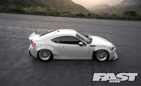 Modified Subaru Brz Fast Car