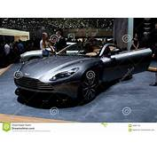 Aston Martin DB11 Volante At Geneva 2016 Editorial Image