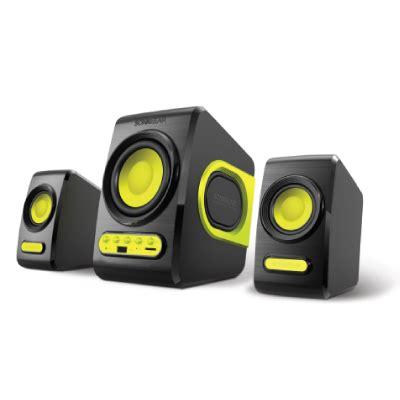 Speaker Quatro V audio speakers sonicgear quatro v speaker b lime green hachi tech