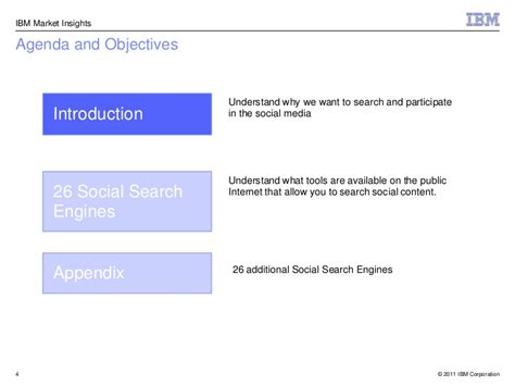 Social Media Search For Social Media Search Engines 10 May2011