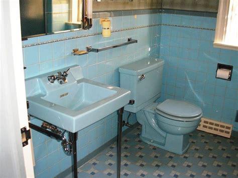 1950s bathroom tile replicating alice s blue 50s bathroom tile floor blue