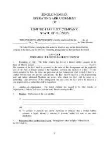 sample llc operating agreement fill online printable