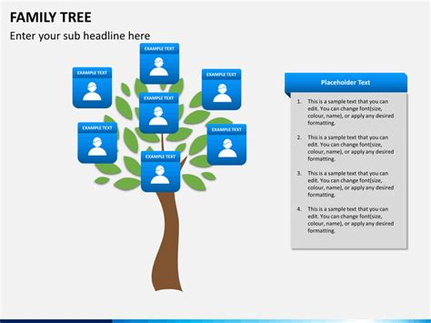 Family Tree Powerpoint Sketchbubble Family Tree Powerpoint Presentation