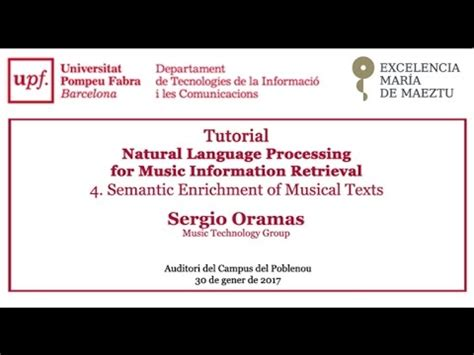 semantic web tutorial youtube tutorial natural language processing semantic