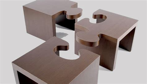 Desk Puzzles by A Puzzling Table By Patou 3rings