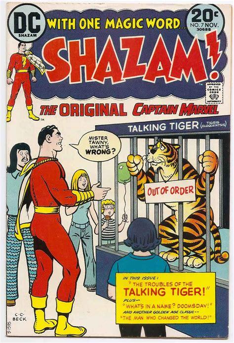 Captain Original shazam the original captain marvel 7 comic shop