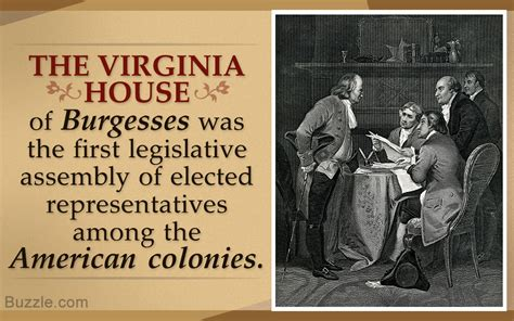 the virginia house of burgesses virginia house of burgesses purpose facts and significance