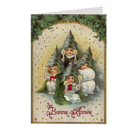 images of victorian christmas cards victorian tree children glittered christmas card germany
